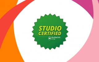 Google DoubleClick™ Studio accreditation for rich media ad and video creation