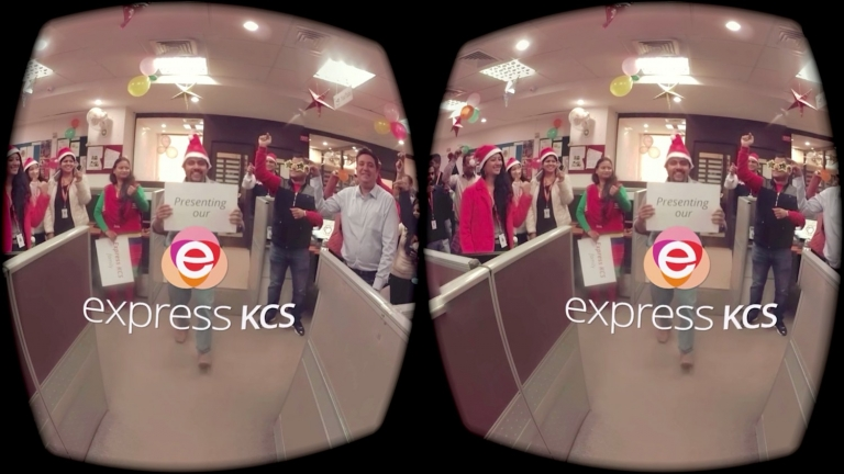 Our first VR video creation experience