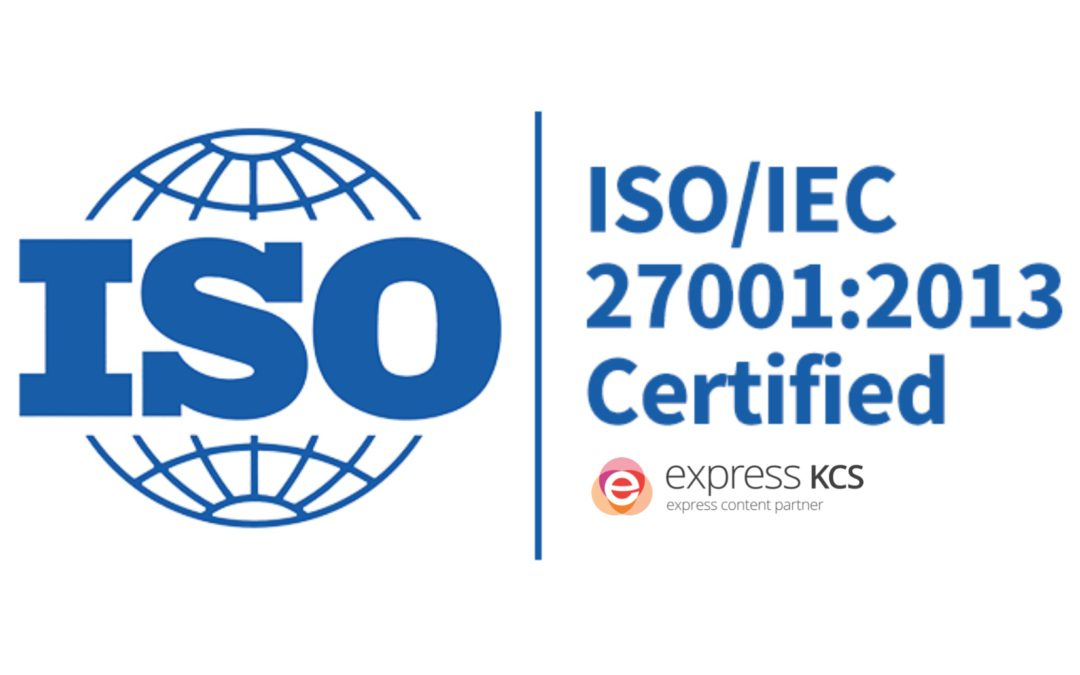Express KCS receives ISO 27001:2013 certification