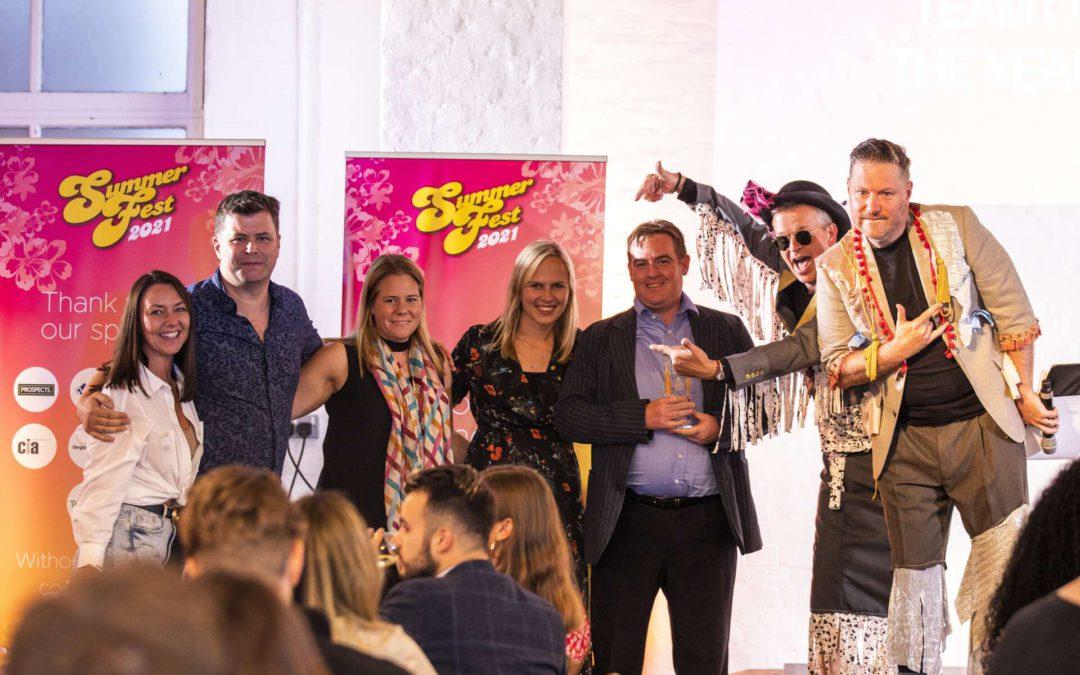 EKCS wins Best Business Partner and Best Media Team in Penna's SummerFest Awards